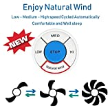 YUKIHALU Natural Wind Universal Ceiling Fan