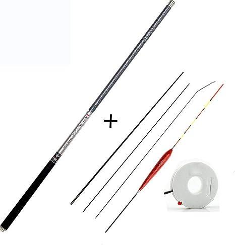 YWHY Fishing Rod Carbon Fiber Telescopic Fishing Pole Ultra