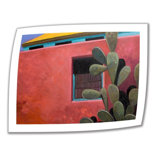 ArtWall Adobe Color 18 by 22-Inch Unwrapped Canvas Art by Rick Kersten with 2-Inch Accent Border