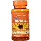 Puritan's Pride Lutein 20 mg with Zeaxanthin-120 Softgels