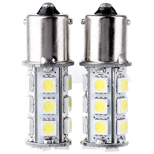 cciyu 4 Pack White 1156 BA15S 5050 27-5050-SMD LED Light Bulb 7503 1141 1073 Backup Light Fit 1998-2006 Jeep TJ