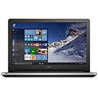 New Dell High Performance Premium Inspiron 15 Series FHD Touchscreen Laptop (Intel Core i5, 8GB DDR3, 1TB HDD, DVD, Backlit Keyboard, WiFi, Bluetooth, HDMI, Windows 10, Silver)
