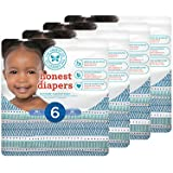 Honest Baby Diapers, Teal Tribal, Size 6, 88 Count