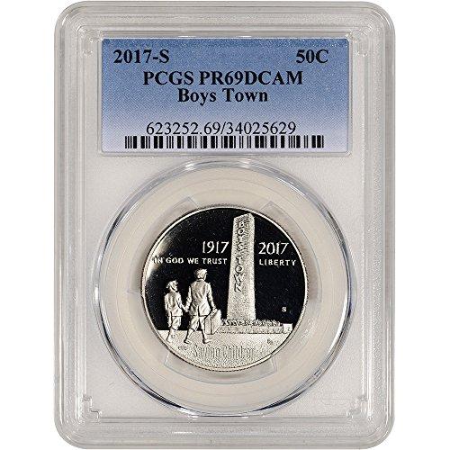 2017 S US Commemorative Proof Half Dollar Boys Town 50C PR69 PCGS DCAM