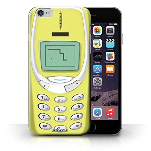 Hülle Case für iPhone 6+/Plus 5.5 / Gelbes Nokia 3310 Entwurf / Vintage Handys Collection