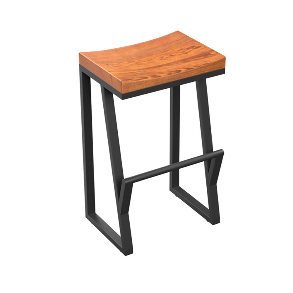 YILIAN dengzi Retro Bar Stuhl Bar Stuhl Massivholz Kreative Hochstuhl Freizeit Bar Stuhl Kaffeestuhl Stool