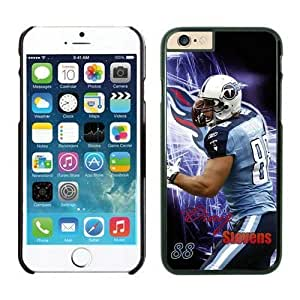 NFL iPhone 6 Plus 5.5 Inches Case Tennessee Titans Craig Stevens Black iPhone 6 Plus Cell Phone Case ONXTWKHC4339