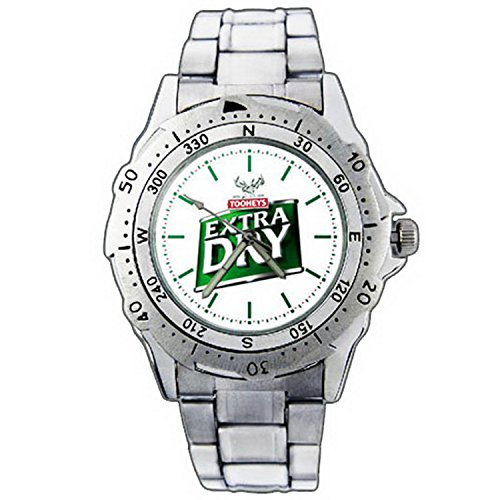 mens-wristwatches-pe01-1289-tooheys-extra-dry-beer-cold-taste-stainless-steel-wrist-watch