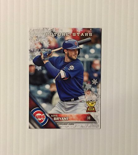 2016 Topps Holiday Metallic Snowflake #HMW58 Kris Bryant Chicago Cubs Rookie Cup Card