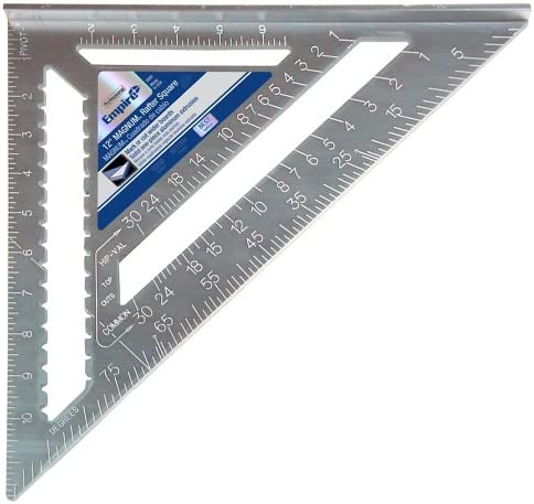 2. Empire Level 3990 12-inch Heavy-Duty Magnum Rafter Square