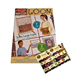 Wooden Multi-Craft Loom with 2-Sets of Yarn