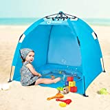 Best Beach Tents For Babies - Baby Beach Tent Plus Portable Beach Pool Umbrella Review