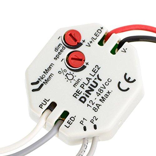 Dinuy RE.PLA.LE2 - Regulador para tiras led 12-48vcc: Amazon.es: Bricolaje y herramientas