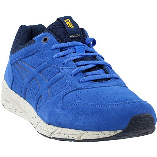 Running Tiger - Onitsuka Tiger Shaw Runner Classic Running Shoe, Strong Blue/Strong Blue, 9 M US