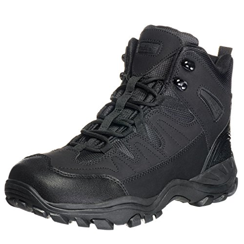 Ameritac 6'' Striker Elite Work Outdoor Tactical Men's Black Boots - 10.5 by AmeriTac