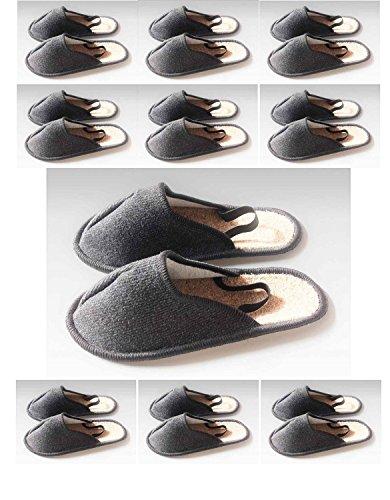 Museo pantofola, Artigiano Pantofola, Copriscarpe con gomma Band sul tallone 10Coppia