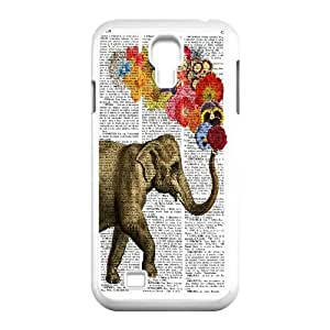 High quality elephant series protective case cover For SamSung Galaxy S4 Case A-elephant-B2846