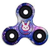 Overwatch Bunny D Va Time Killing Tri Fidget Spinner Anxiety Relief Finger Toy