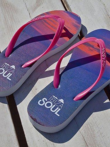 Ibiza Soul - Sandalias mujer Sunset Pink