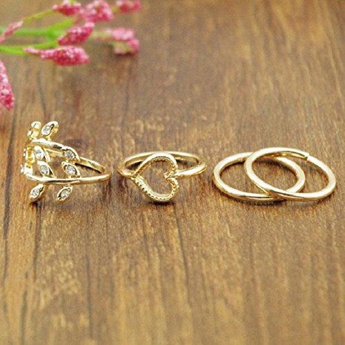Lookatool Fashion Gold Plated Le...