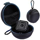 GoPro Hero Session Case - Wolven Portable Shockproof GoPro Hero Session Case/Electronic Accessories Organizer Holder/USB Flash Drive Case Bag - Black