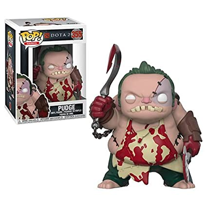 Amazon.com: Dota 2 PUDGE con carnicero Pop. Vinilo Figura y ...