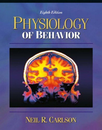 Physiology of Behavior by Carlson, Neil R. (2003) Hardcover for sale  Delivered anywhere in USA