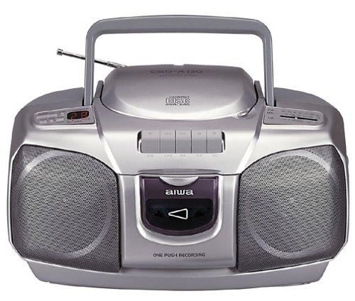 (Aiwa CSD-A120 CD Radio Cassette Recorder/Tuner/Synchro Dubbing/Repeat)