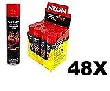 Neon Universal Gas Lighter Refill- 5X Refined Premium Butane 48 Pack
