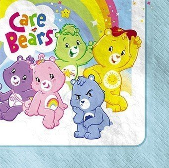 Care Bears Lunch Napkins 16ct -