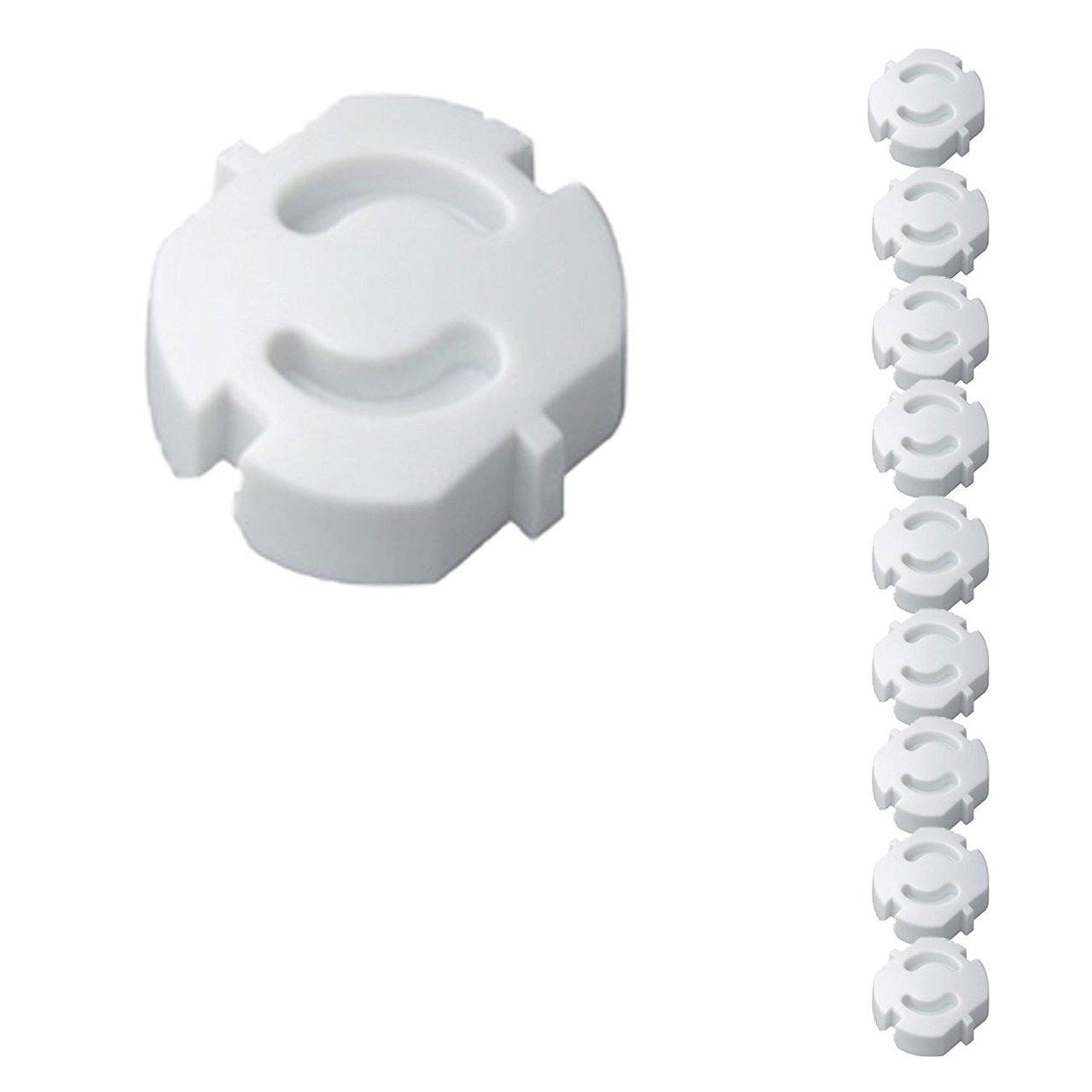 10er Pack H+H KS 6 Steckdosensicherung weiß zum Einstecken