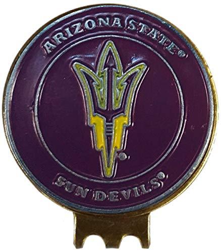 アリゾナ州立大学 サンデビルズ ハットクリップ 真鍮 ゴルフボールマーカー付き   B07NVNS68Y