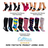 Plantar Fasciitis Socks Womens, 3 Pairs Ankle