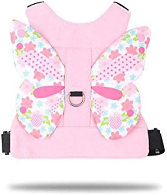 2 pcs Anti Lost Harness Rein Belt Strap and Anti Lost Wrist Link for Toddler Kids Babies with 360/°Leash Assistant