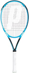 Prince Shark 105 Corrugated Racket with Cover, Adult Unisex, Blue (Blue)