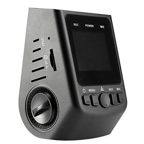 A118-C 1080p HD Car Dash Camera Capacitor G-Sensor 1.5'' HD Screen 170 Degree Wide Angle Lens Records at 60 FPS Loop Recording