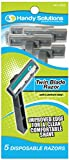 Handy Solutions Men's Twin Blade Razors - 5 pack 144 pcs sku# 1869525MA