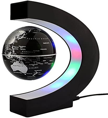 Flotante Globo Giratorio mapa del mundo Tierra Planeta bola con C ...