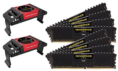 CORSAIR Vengeance LPX 256GB (8x32GB) DDR4 3600 (PC4-28800) C18 Desktop Memory - Black