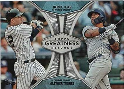 e4b44843b8a Amazon.com  2019 Topps Greatness Returns Baseball  GR-20 Derek Jeter ...