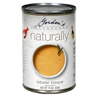 Gordon's Naturally Lobster Bisque, 15-Ounce Cans (Pack of 12)