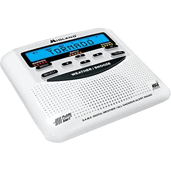 Midland Wr120bwr120ez Noaa Weather Alert All Hazard Public Alert Certified Radio With Same, Trilingual Display & Alarm Clock - Box Packaging 2