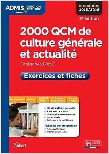 Culture générale 2014 pdf