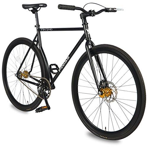 Best price for Merax Classic Fixed Gear Bike Single Speed Road Bike 54cm, Black