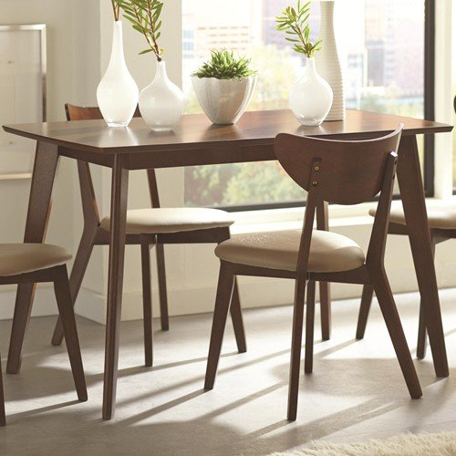 coaster  home furnishings dining table chestnut: table for kitchen