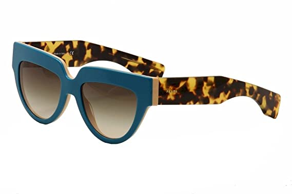 bced8e9a7721d Prada 29PS SL00A7 Turquoise Tortoise and Peach 29PS Poeme Cats Eyes  Sunglasses