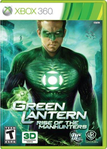 Green Lantern: Rise of the Manhunters - Xbox 360 (Green Lantern Video Game Xbox)