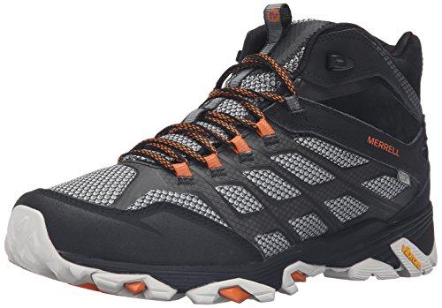 Merrell Herren Moab FST Mid Wtpf Wide Wandern Schuhe