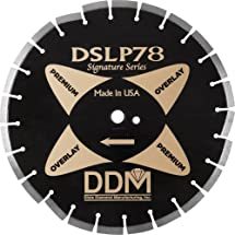 Dixie Diamond Manufacturing DSLP7814110ASPHALT OVER CONCRETEBlade Premium Grade for Dry/Wet Cutting, 14-Inch X 0.110-Inch X 1-Inch with 20mm Bushing