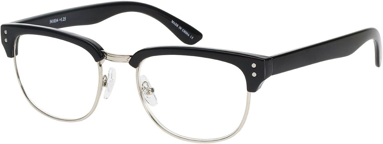 Classic Half Frame Sunglasses Classic Vintage Inspired Browline Retro Soho Style
